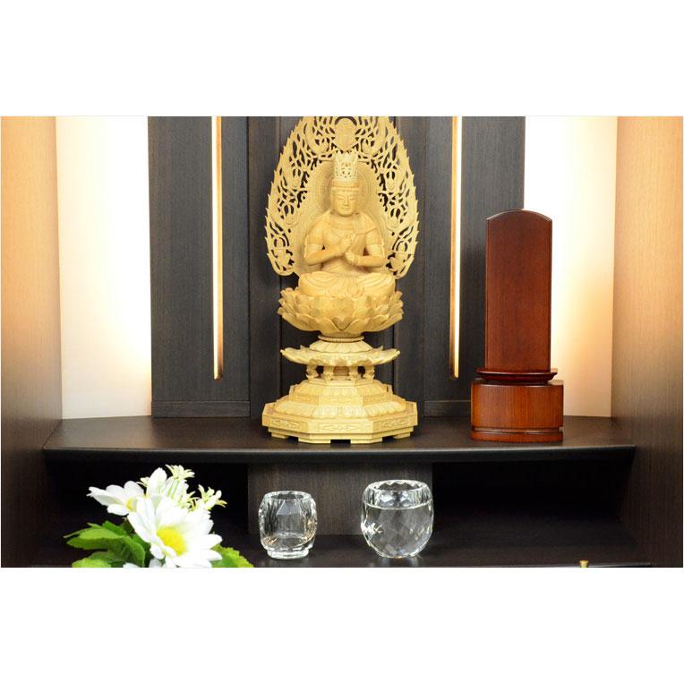 New modern Buddhist altar, mortuary