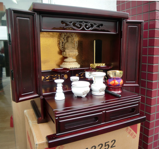 Small Buddhist altars and luxury paulownia wood Royal