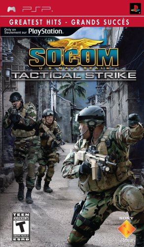 Socom: Tactical Strike (輸入版:北米) 【中古】