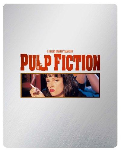 【数量限定生産】パルプ・フィクション ブルーレイ版スチールブック仕様(2枚組) [Blu-ray]