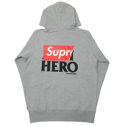 【正規逆輸入品】 Supreme (シュプリーム) × ANTIHERO FZP HOODIE, 豪華 c693309f
