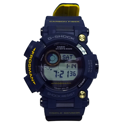 CASIO G-SHOCK GWF-D1000NV-2JF MASTER IN NAVY FROGMAN