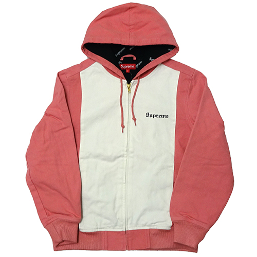 Supreme (シュプリーム) 2-TONE HOODED WORK JKT