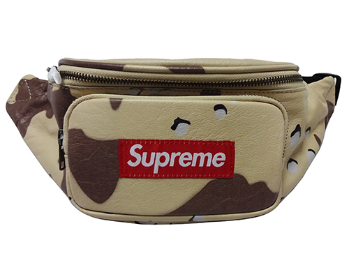Supreme (シュプリーム) LEATHER WAIST BAG