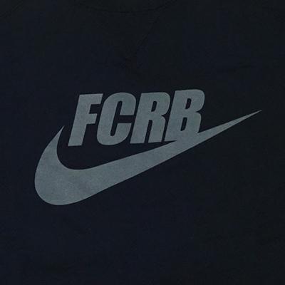 FCRB FCRB SWOOSH S/S CREWNECK