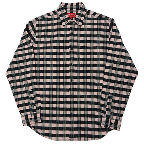 Supreme (シュプリーム) CHECK PLAID FLANNEL SHIRT