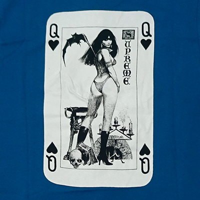 Supreme (シュプリーム) × VANPIRELLA CARD T