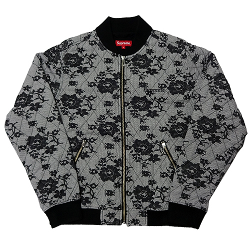Supreme (シュプリーム) QUILTED LACE BOMBER JKT