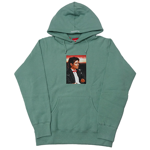 Supreme (シュプリーム) × MICHAEL JACKSON HOODED SWEATSHIRT