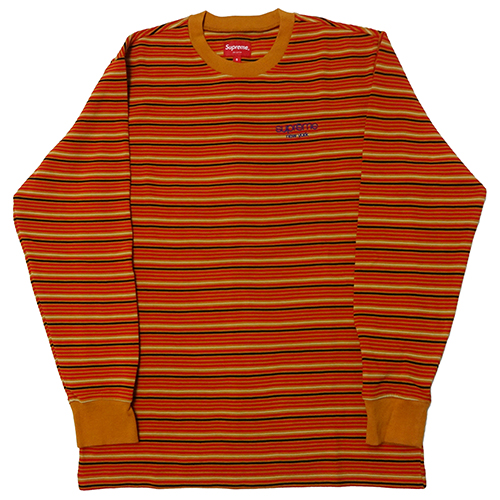 Supreme (シュプリーム) RAISED STRIPE L/S TOP