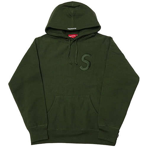 Supreme (シュプリーム) TONAL S LOGO HOODED SWEATSHIRT