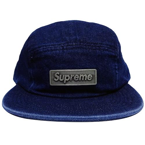 Supreme (シュプリーム) METAL PLATE CAMP CAP