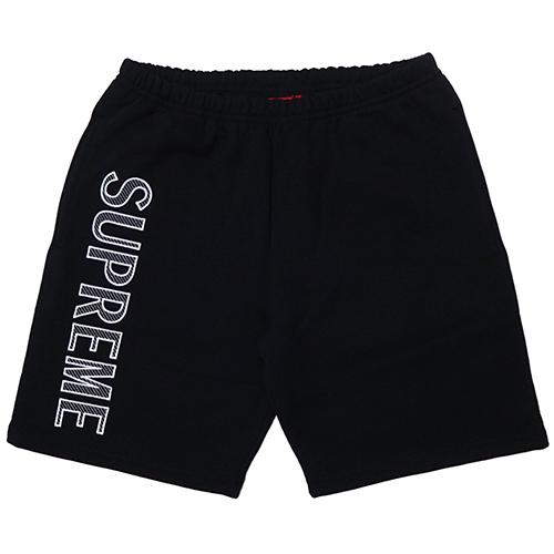 Supreme (シュプリーム) LEG EMBROIDERY SWEAT SHORT
