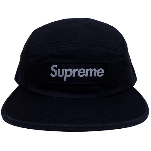 Supreme (シュプリーム) WASHED CHINO TWILL CAMP CAP