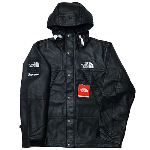 Supreme (シュプリーム) × THE NORTH FACE (ノースフェイス) LEATHER MOUNTAIN JACKET 【NP61807】