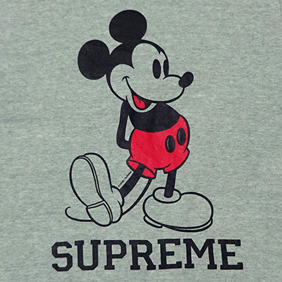 【中古】 Supreme (シュプリーム) × DISNEY MICKEY T