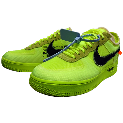 NIKE (ナイキ) × OFF WHITE VIRGIL ABLOH THE 10 : AIR FORCE 1 LOW 【AO4606-700】