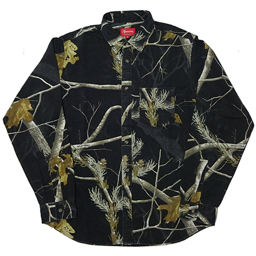 Supreme (シュプリーム) REALTREE L/S SHIRTS