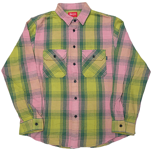 Supreme (シュプリーム) HEVYWEIGHT FLANNEL SHIRT
