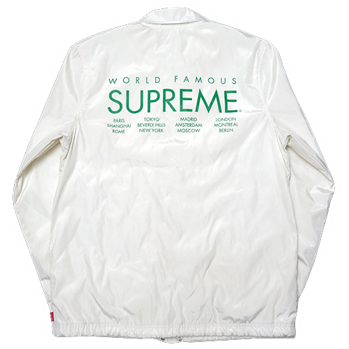 【中古】 Supreme (シュプリーム) INTERNATIONAL COACHES JACKET