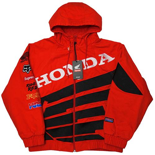 Fox Racing Honda Pullover Hoodie-Navy//White-S
