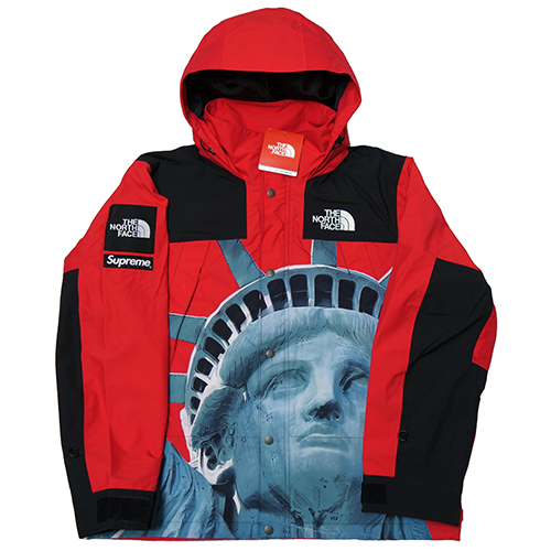 Supreme (シュプリーム) × THE NORTH FACE (ノースフェイス) STATUE OF LIBERTY MOUNTAIN PARKA 【NP61902】