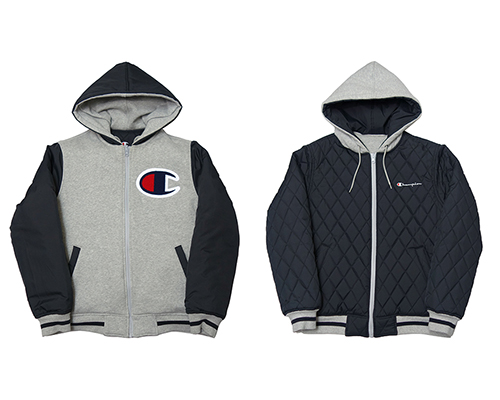 【中古】 Supreme (シュプリーム) × CHAMPION (チャンピオン) REVERSIBLE HOODED JACKET