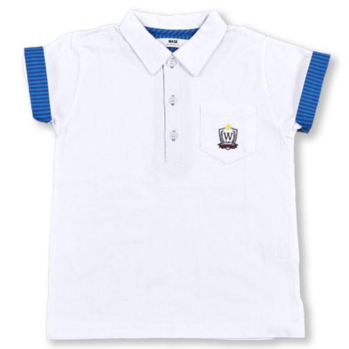 高品質新品 WASK ワスク ポケット付ポロシャツ 90cm~100cm 60%OFF 公式サイト 子供服 100 90 ベベ 男の子 BeBe アウトレット