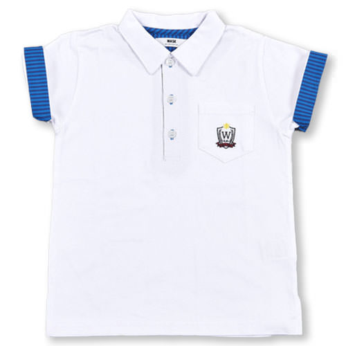 WASK ワスク ポケット付ポロシャツ 110cm~130cm 60%OFF 海外 子供服 BeBe 130 男の子 120 アウトレット SALE ベベ 110