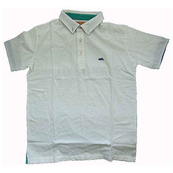 KRIFFMAYER(クリフメイヤー)半袖ポロシャツ『マルチステッチPOLO』オフホワイト