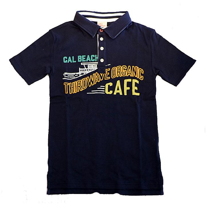 KRIFFMAYER(クリフメイヤー)タイトフィットポロシャツCAFEネイビー