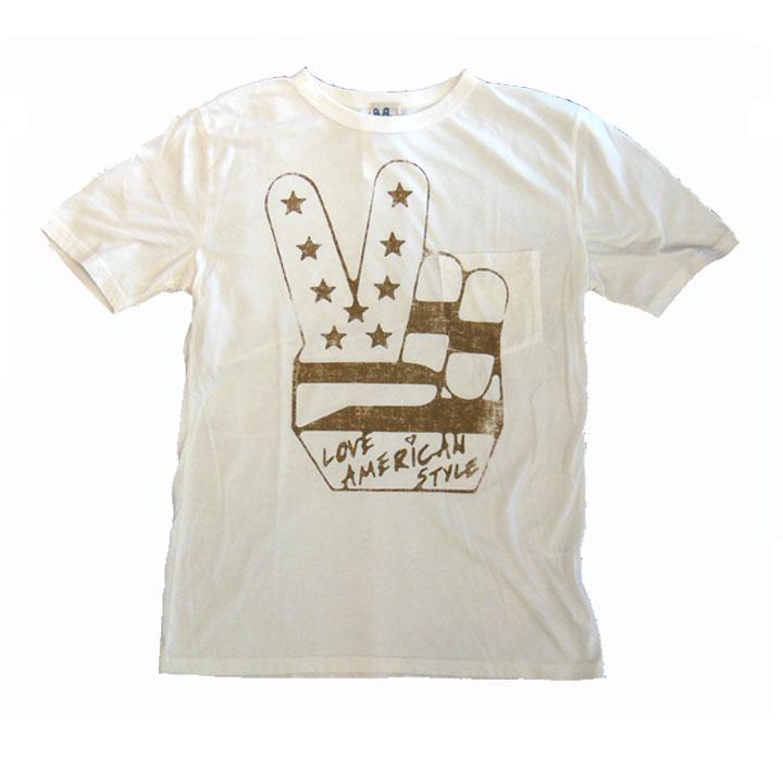 JUNK FOOD(ジャンクフード)半袖ポケットTシャツLOVE AMERICAN STYLESugar