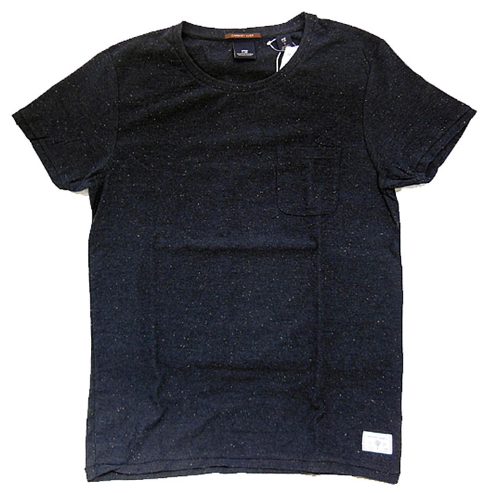 SCOTCH&SODA(スコッチ&ソーダ)カラフルネップポケットTシャツ950(スミクロ)
