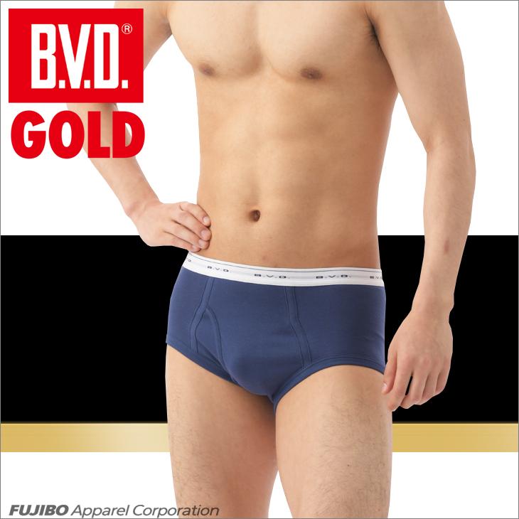 B.V.D.GOLD 天ゴムスタンダード カラーブリーフ 2枚セット LLサイズ BVD 【綿100%】  メンズ インナー 下着 【コンビニ受取対応商品】 g042-2p