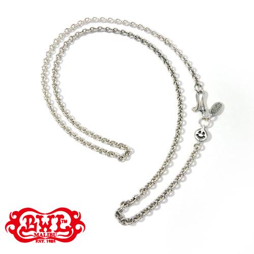 【BWL正規取扱販売店】ビルウォールレザー【送料無料/あす楽】Round Chain Necklace w/ Tiny Charm and Oval BWL Tag 26