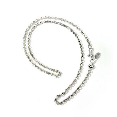 【BWL正規取扱販売店】ビルウォールレザー【送料無料/あす楽】Round Chain Necklace w/ Tiny Charm and Oval BWL Tag 21