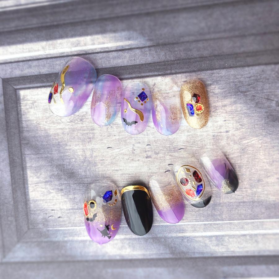 2020 ハロウィンカラー 4色セット web限定 ネイルラボ カラージェル 日本製 ネイル セット ジェルネイル 国産 お得 プロ UV 削らない ネイルポリッシュ セルフ 配送員設置送料無料 ジェル マニキュア 対応 激安通販販売 LED ポリッシュ