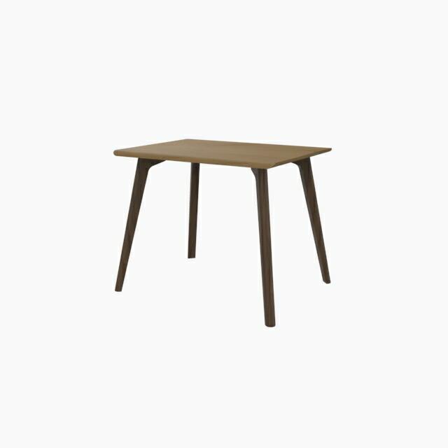 家具 テーブル インテリア おしゃれ 机 デザイン ナチュラル 公式ストア モダン 木製 脚 CROSS お得なキャンペーンを実施中 ダイニングテーブル W900 脚:ウォールナット 天板 天板:ホワイトオーク 木目 - 送料無料 ウッド