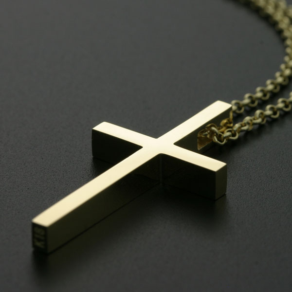 ffb445786075 K18 gold necklace mens cross-pure gold men s pendants k18 gold Cross  Pendant Necklace men cross 18 gold cross necklace