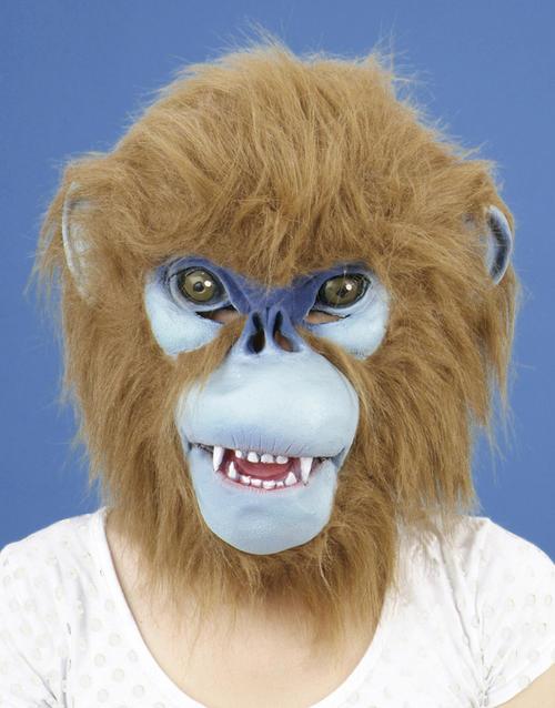 Diabolical Patchwork Monkey Eye Mask