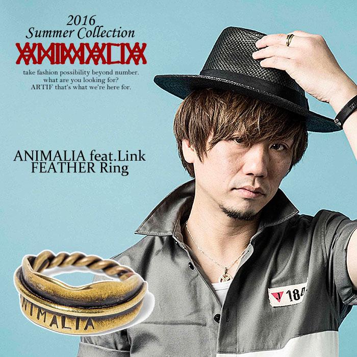 アニマリア リング ANIMALIA ANIMALIA feat.Link-FEATHER Ring animal-ac39 【ストリート系 ファッション】