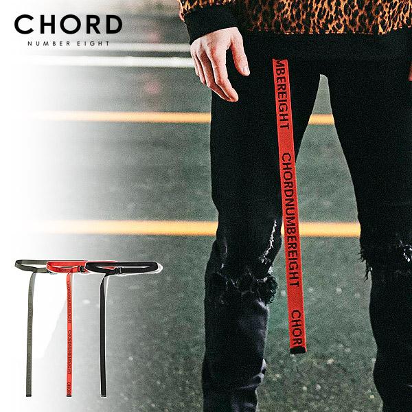 コードナンバーエイト ベルト CHORD NUMBER EIGHT JACQUARD TAPE BELT ストリート ファッション