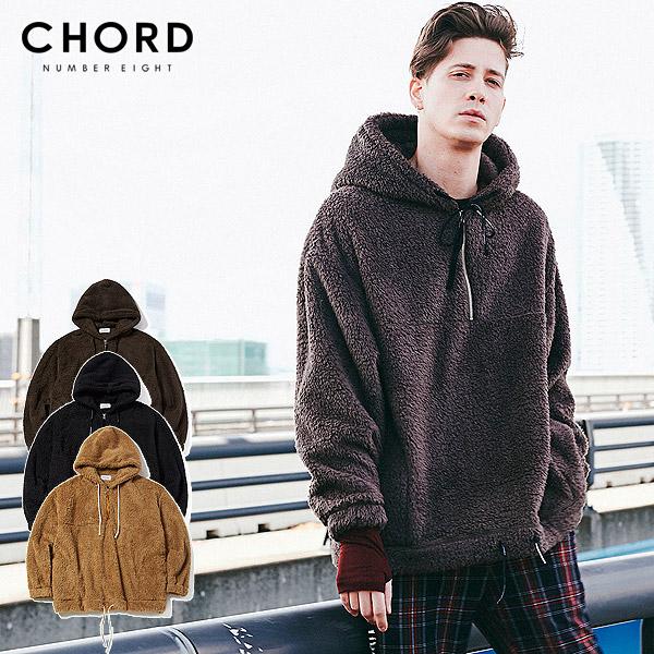 30%OFF SALE セール コードナンバーエイト パーカー CHORD NUMBER EIGHT BOA HOODIE ストリート系 ファッション