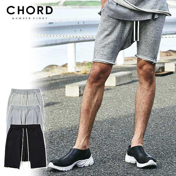 コードナンバーエイト ショーツ CHORD NUMBER EIGHT SARROUEL SWEAT SHORTS ストリート系 ファッション
