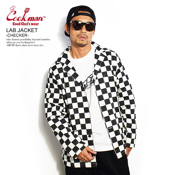 クックマン ジャケット COOKMAN LAB.JACKET -CHECKER- ストリート系 ファッション