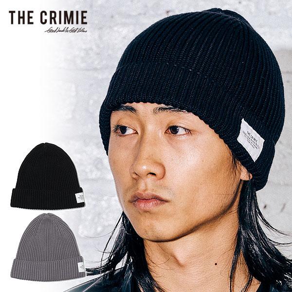CRIMIE クライミー ニットキャップ ニット帽 宅配便送料無料 COTTON KNIT CAP おしゃれ メンズ モデル着用&注目アイテム