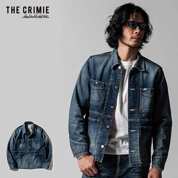 クライミー ジャケット CRIMIE BORN FREE 2 STRETCH SELVEDGE GARAGE USED JACKET ストリート系 ファッション