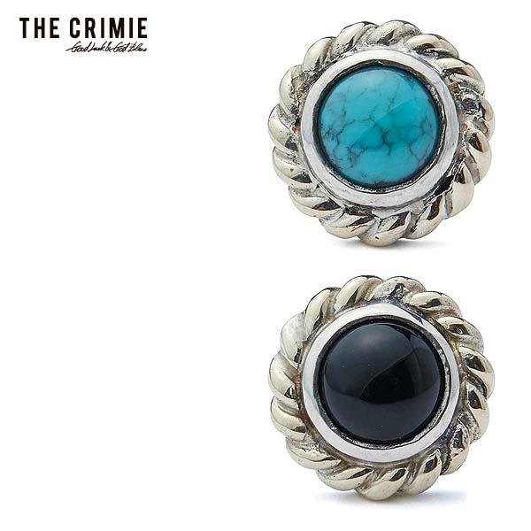 クライミー ピアス CRIMIE STONE 10K GOLD PIERCE ストリート系 ファッション