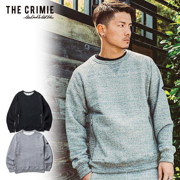 クライミー スウェット CRIMIE TSURIAMI SWEAT CREW NECK ファッション ストリート