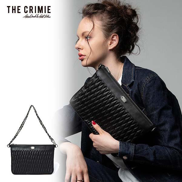 先行予約 クライミー バッグ CRIMIE DIAMOND QUILT 2WAY CLUTCH BAG MIDDLE 10月~11月入荷予定 ストリート系 ファッション